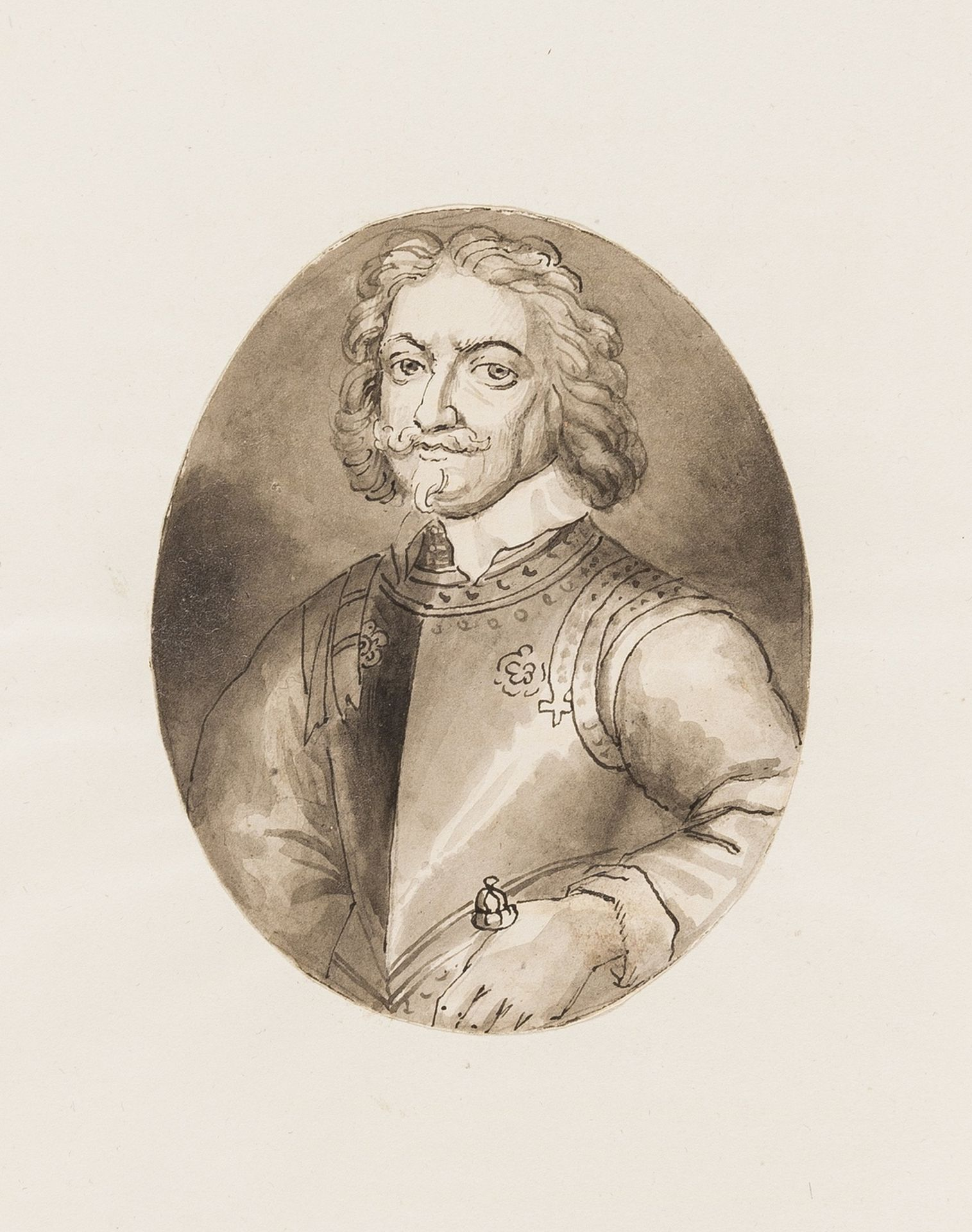 Hyde (Edward, Earl of Clarendon) Characters of Eminent Men in the Reigns of Charles I, and II. … - Image 3 of 4