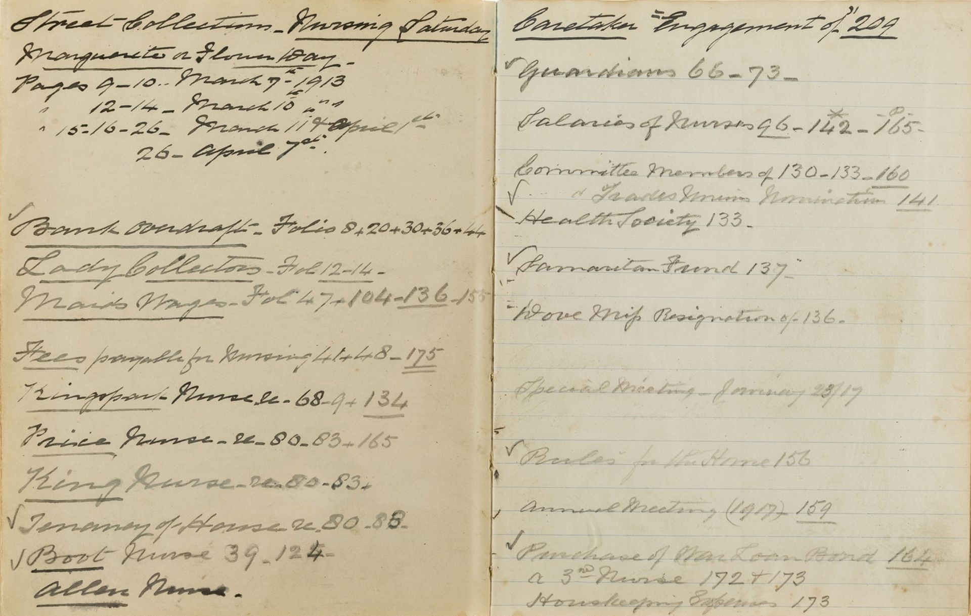 Buckinghamshire Nursing.- High Wycombe and District Nursing Institution. Minutes of Meetings, …