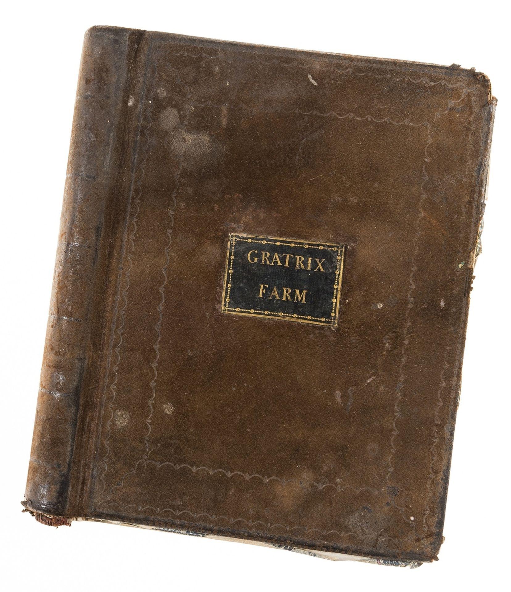 Derbyshire.- Gratrix Farm.- [Farm & Household Accounts in Derbyshire], manuscript, original …