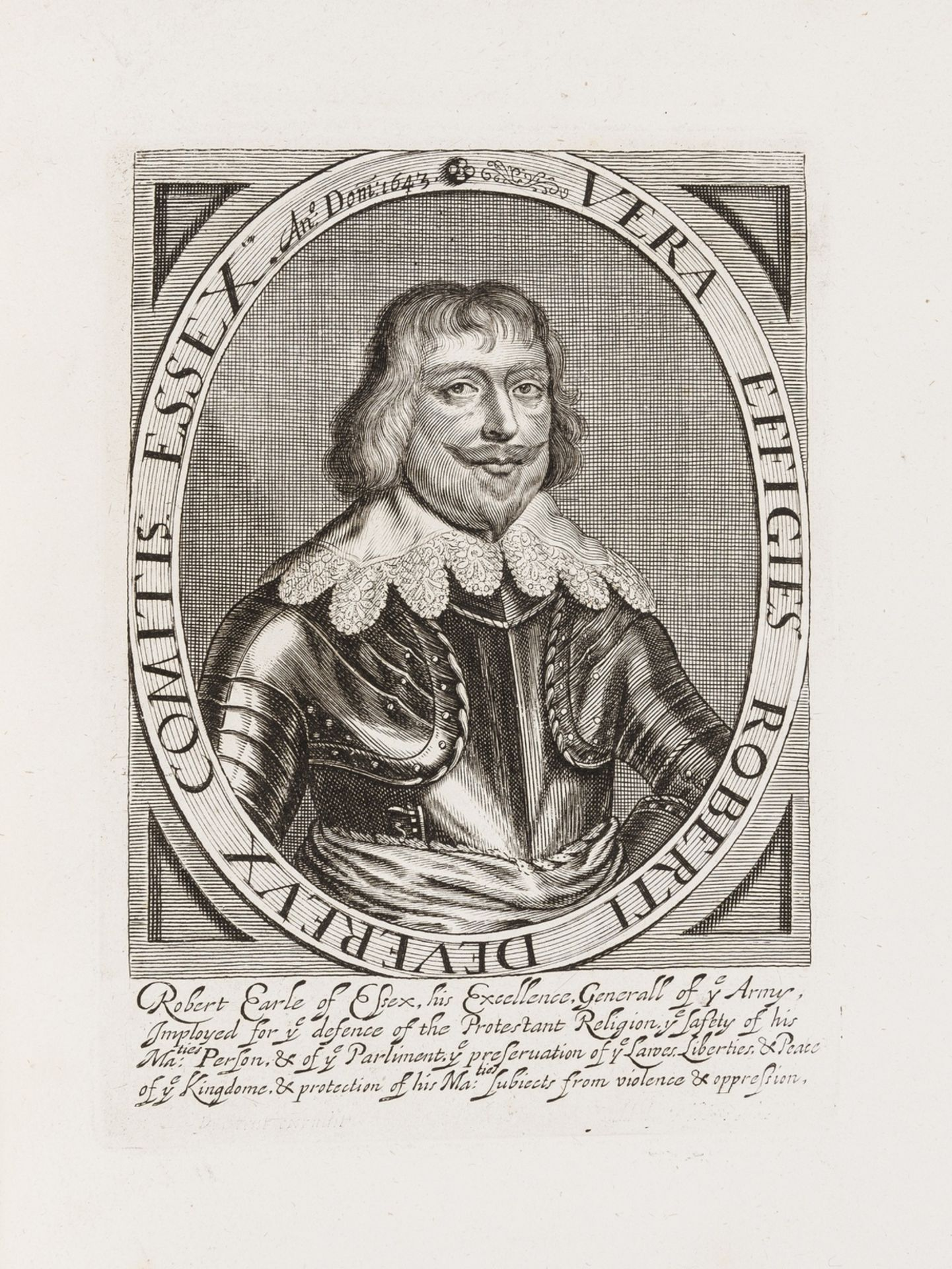 Hyde (Edward, Earl of Clarendon) Characters of Eminent Men in the Reigns of Charles I, and II. … - Image 4 of 4