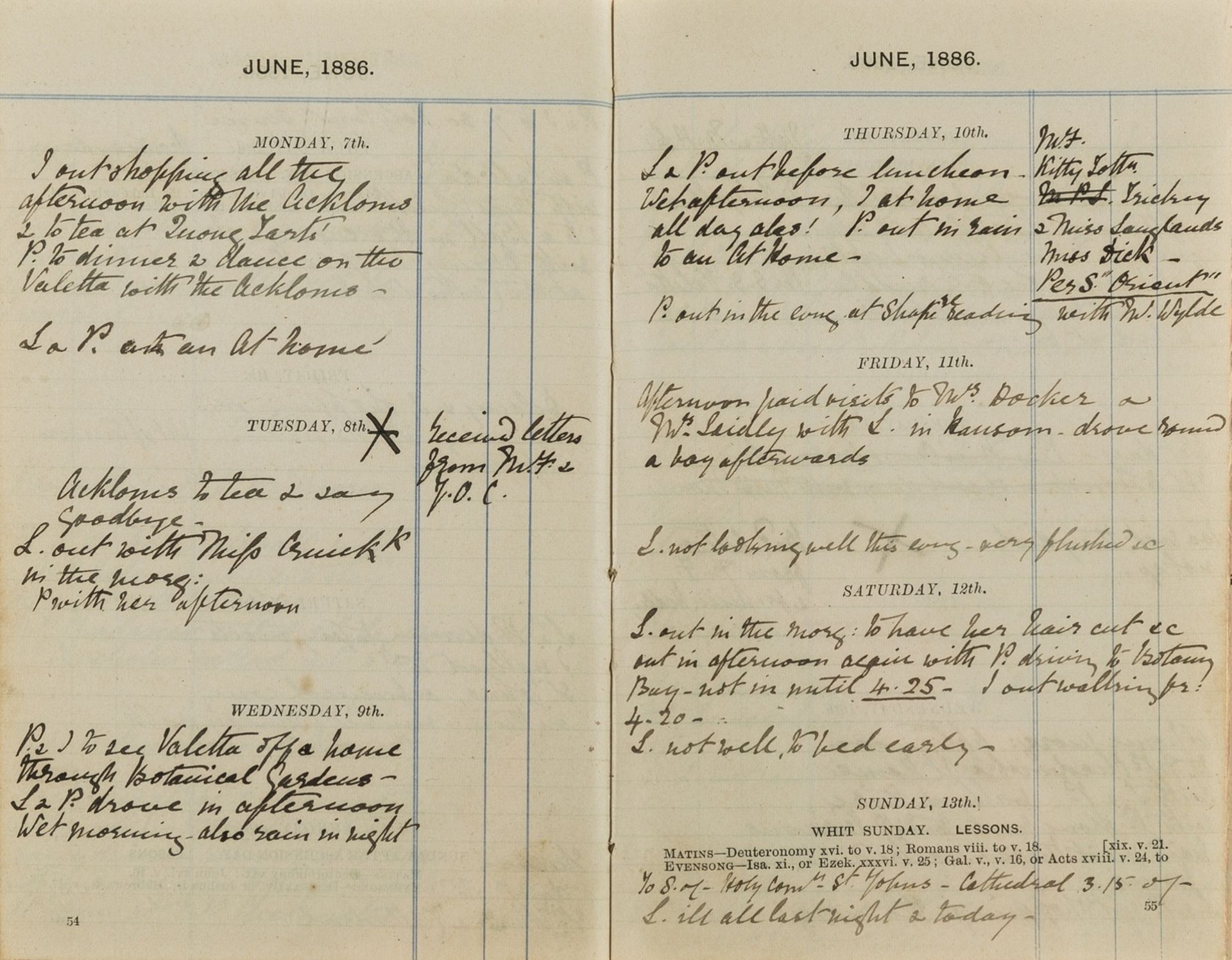 Australia.- [Truell (Henrietta Montana Ogle, of Ballyhenry, Ireland, and Bath)] Diary, autograph …