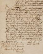 Royal Navy.- Shovell (Sir Cloudesley) Letter signed to Captain John Baker Commander of HMS …