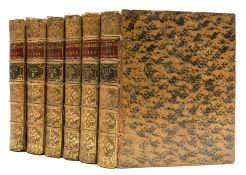 Shakespeare (William) The Works of Shakespear...collated and corrected...by Mr. Pope, 6 vol., …