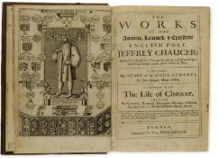 Chaucer (Geoffrey) The Works, last black-letter edition, 1687.