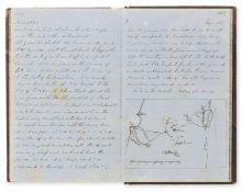 Royal Navy.- Fairlie (Henry James, midshipman) Log Book of service on HMSs Powerful, Retribution …