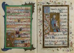 Illuminated prayer book.- Maria Carcer y Trigueros... Santa Misa y Oraciones, illuminated …