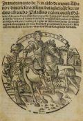 [Forti (Girolamo)] Inamoramento de' Rinaldo de Monte Albano et diverse ferocissime bataglie..., …