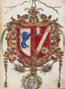 Spanish Nobility.- Philip V (King of Spain).- Patent of nobility in favour of Juan Gomez de …