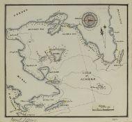 Greek & Mediterranean Waters.- Royal Navy.- Chichester (Cecil George) Log of H.M.S. Anson [&] Log …