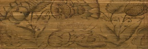 Early fore-edge painting.- Bible, English.- The Holy Bible, with an early floral fore-edge …