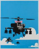 Banksy (b.1974) Happy Choppers