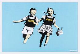 Banksy (b.1974) Jack and Jill (Police Kids)