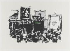Banksy (b.1974) Morons