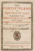 [Fletcher (Phineas)] The Purple Island, or the Isle of Man: Together with Piscatorie Eclogs and …