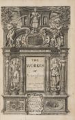 Jonson (Ben) The Workes, vol. 1 only (of 3), 1640.