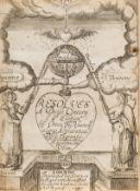 Felltham (Owen) Resolves a Duple Century, fourth edition, 1631.