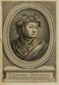 Boccaccio (Giovanni) Il Decamerone... nuovamente corretto et con diligentia stampato, Florence …