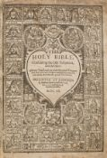 Bible, English.- The Holy Bible, containing the Old Testament and the New, 1620.