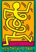 Keith Haring (1958-1990) Montreux 1983 Green (Döring & Osten 9)