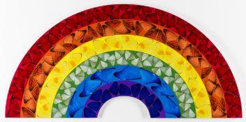 Damien Hirst (b. 1965) H7-1 Butterfly Rainbow