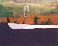 Peter Doig (b.1959) Untitled (Canoe)
