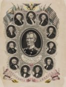 Americana.- Read & Co. (Publishers) Zachary Taylor, The Peoples Choice for 12th President, …