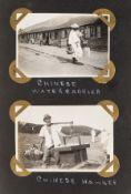 Far East.- 2 photograph albums, covering Japan, China and Hong Kong, [1920s].