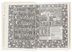 Kelmscott Press.- Chaucer (Geoffrey) The Works: A Facsimile of the William Morris Kelmscott …
