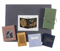 Bookbinding.- Albert (Neale M.) The...Collection of Miniature Designer Bindings, New York, 2006 & …