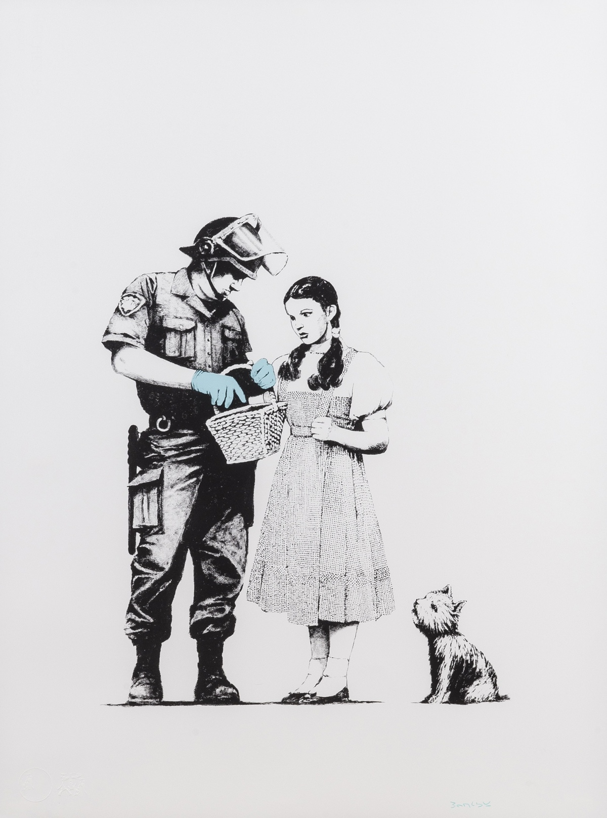 Banksy (b.1974) Stop and Search