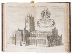 Nottinghamshire.- Thoroton (Robert) The Antiquities of Nottinghamshire, first edition, Robert …