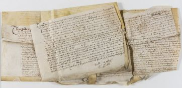 Indentures etc.- Suffolk.- Indenture, bargain and sale by Thomas Cotton to Christopher Cox of land …