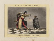 Lisle (Joe) Play Upon Words, Thomas McLean, [?1828]; extra-illustrated with a variety of other …