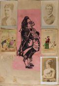 Austria.- Springer Family (of Vienna) Scrap Book, ephemera including menus, visiting cards, …