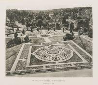 Gardens.- Triggs (H. Inigo) Formal Gardens in England and Scotland, with illuminated presentation …
