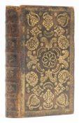 Binding.- Bible, Dutch.- Het Nieuwe Testament, in a richly gilt contemporary calf binding, …