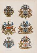 Heraldry.- Rietstap (J.B.) Wapenboek van den Nederlandschen Adel, 2 vol., 103 chromolithographed …