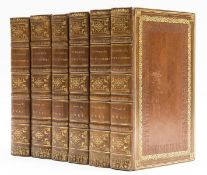 Nicholson (William) The British Encyclopedia, or Dictionary of Arts and Sciences, 6 vol., engraved …