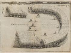 Military.- Aelianus Tacticus. Sive de motionibus, ac praeceptis militaribus..., 3 folding engraved …