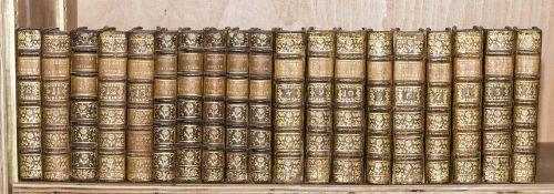 Buffon (G.L.M.L., Comte de) Histoire Naturelle, Générale et Particuliere, 19 vol. including 6 vol. …