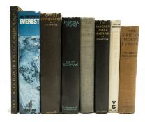 Mountaineering.- Shipton (Eric) Nanda Devi, first edition, original cloth, 1936 & others (8)