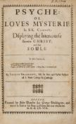 Beaumont (Joseph) Psyche: or Loves Mysteries in XX. Canto's: Displauing the Intercourse Betwixt …