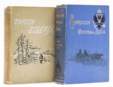 Lansdell Henry Through Central Asia first edition inscribed by the author original pictorial ...