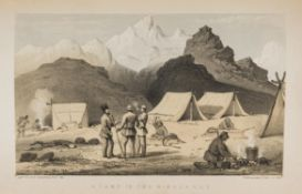Sporting Markham Col Frederick Shooting in the Himalayas first edition 1854