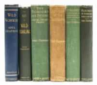 Sporting Chapman Abel Wild Norway first edition original cloth 1897 & others by the same 6