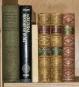 India Elphinstone Mountstuart The History of India 2 vol first edition 1841 and 5 others...