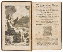 Lucretius Carus (Titus) Of the Nature of Things..., translated by Thomas Creech, 2 vol., by …
