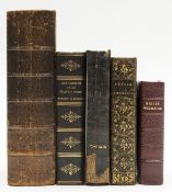 Bible, Hebrew.- Biblia Hebraica, Amsterdam & Utrecht, Borst & others., 1701; and 4 others, 19th …