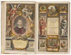 Hebraica.- Buxtorf (Joannes) Lexicon Chaldaicum, Talmudicum et Rabbinicum, 1639 & Concordantiae …