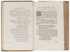Persian literature.- Sa'di (Abu 'Abd Allah Musharrif al-Din) [Gulistan] Rosarium politicum..., …